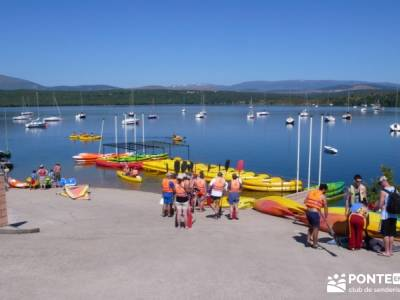 Piragua El Atazar; viajar semana santa clubs de senderismo en madrid senderismo madrid singles